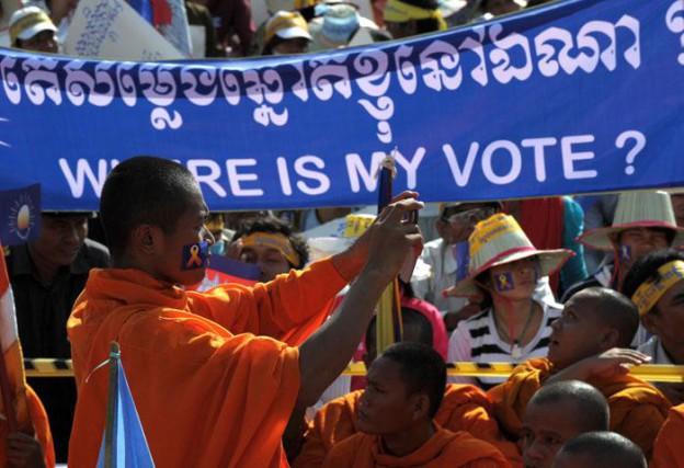 Cambodge : contestation des élections législatives confirmées en septembre
