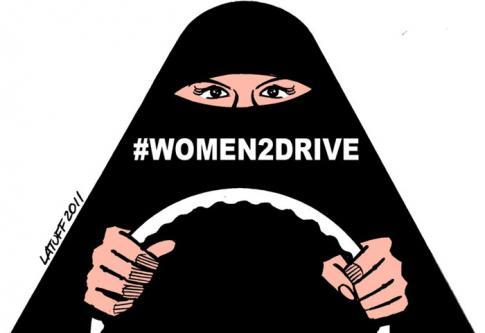 Des saoudiennes revendiquent le droit de conduire